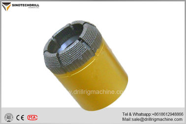 Dry / Wet Diamond Core Drill Bits , Diamond Products Core Drill Parts BQ NQ HQ PQ